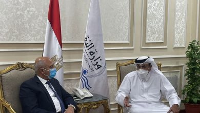 Minister of Transport Meets Saudi, Egyptian Ministers of Transport
