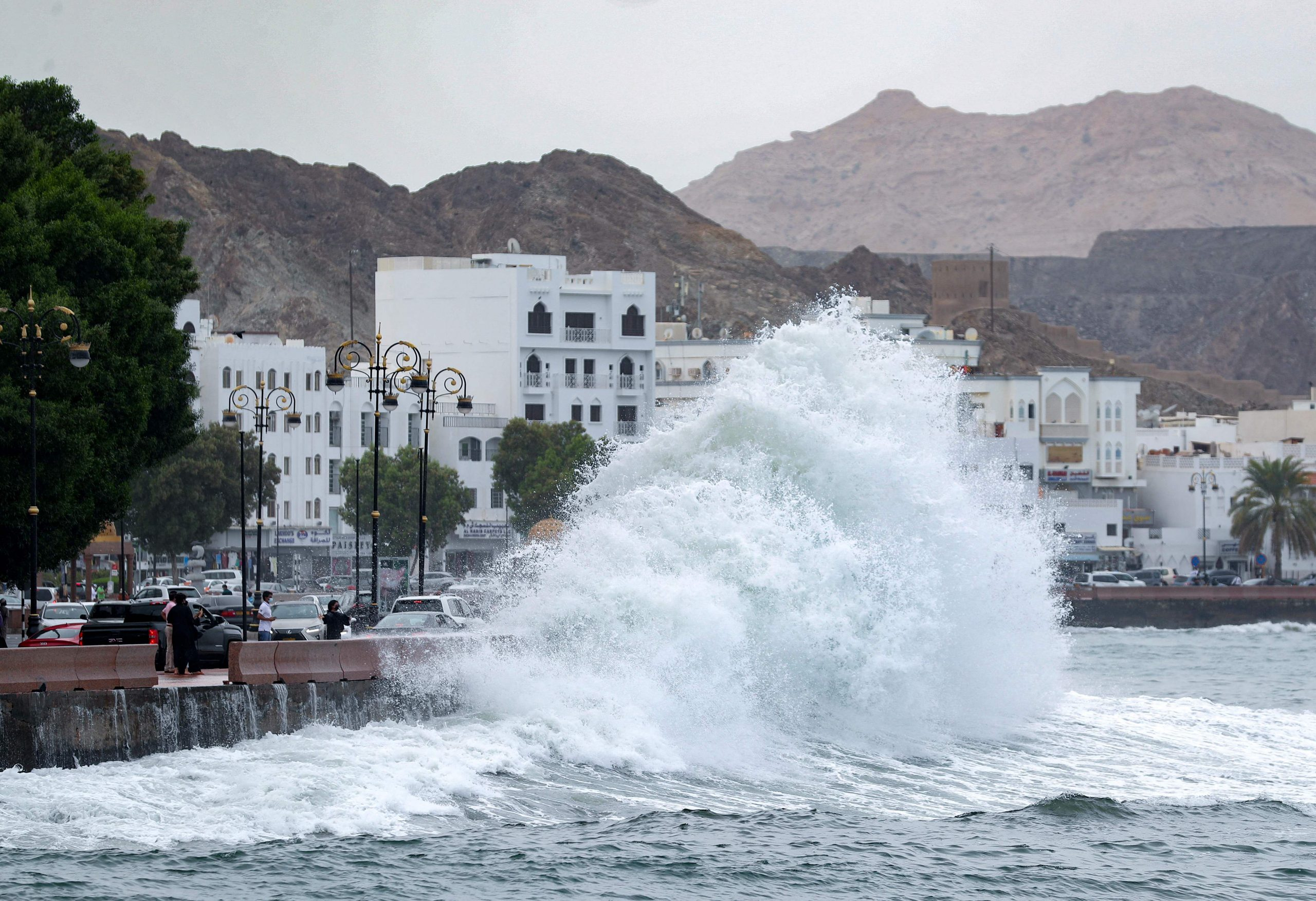 Cyclone Shaheen hits Oman with ferocious winds, killing four