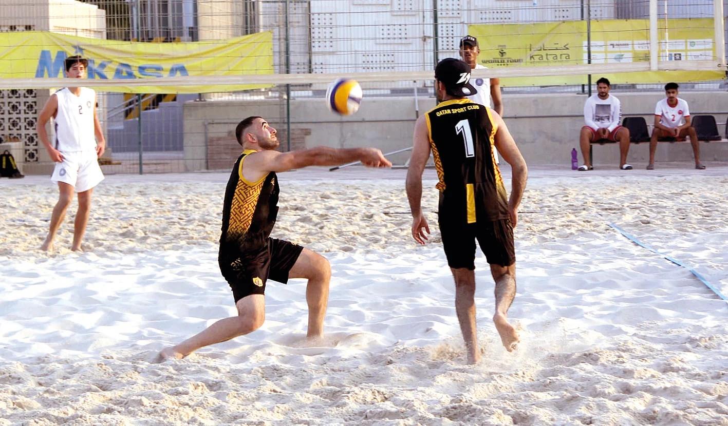 Qatar Beach Volleyball Championship: Al Arabi and Al Ahli Win