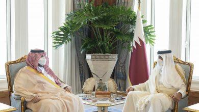 Amir meets Prince Turki bin Mohammed Al Saud