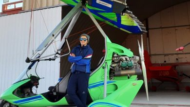 Reem Al-Kuthairi tells her most dangerous experiences and the secret of flying over Al-Bayt Stadium