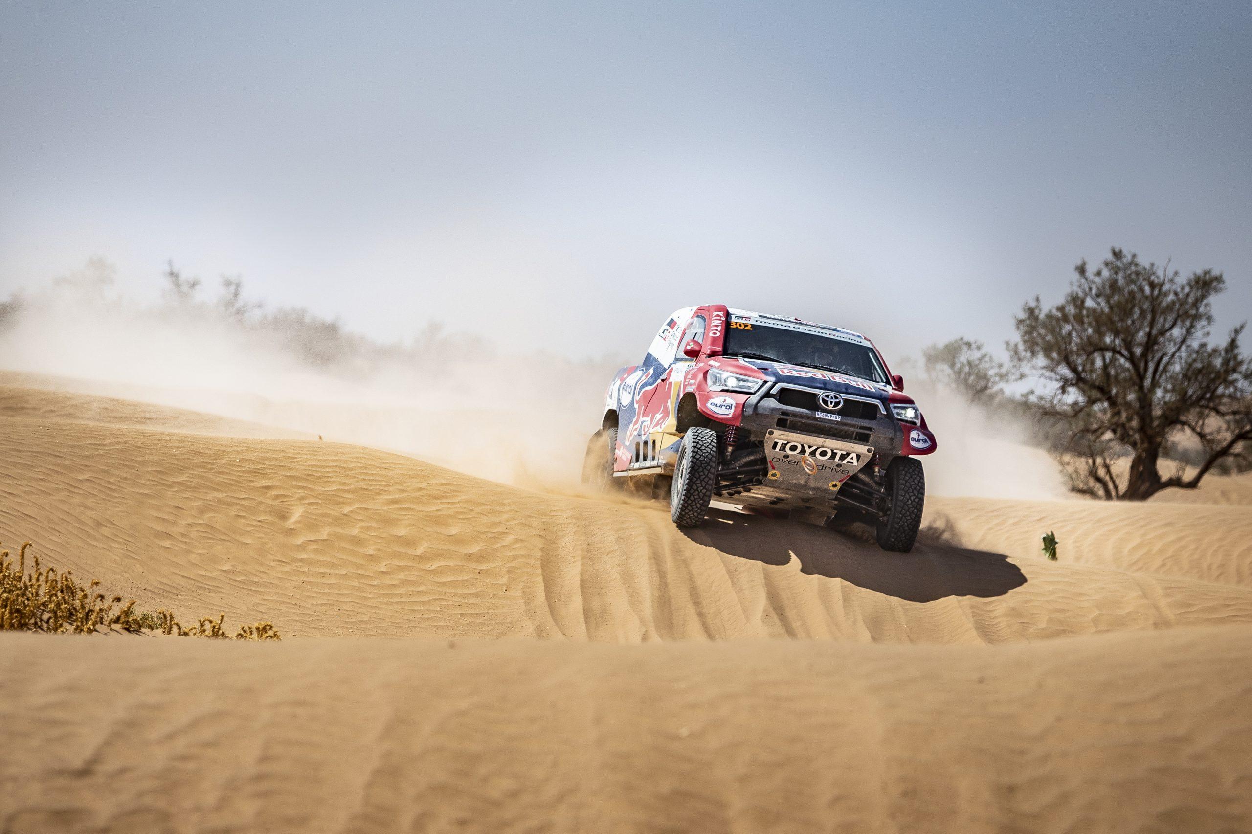Al Attiyah Makes Strong Start to Morocco Rally