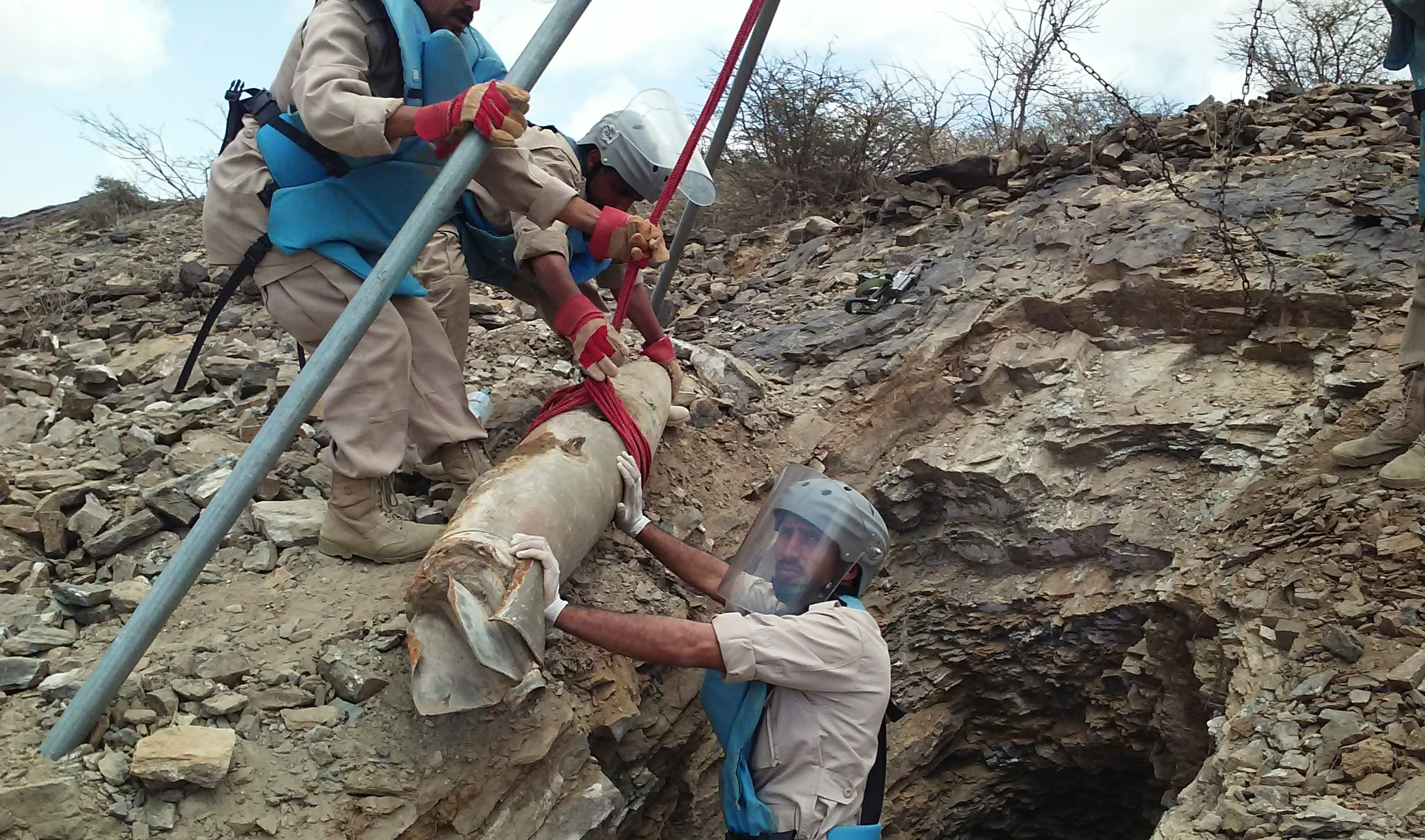 UN Calls for Mine Clearance in Yemen