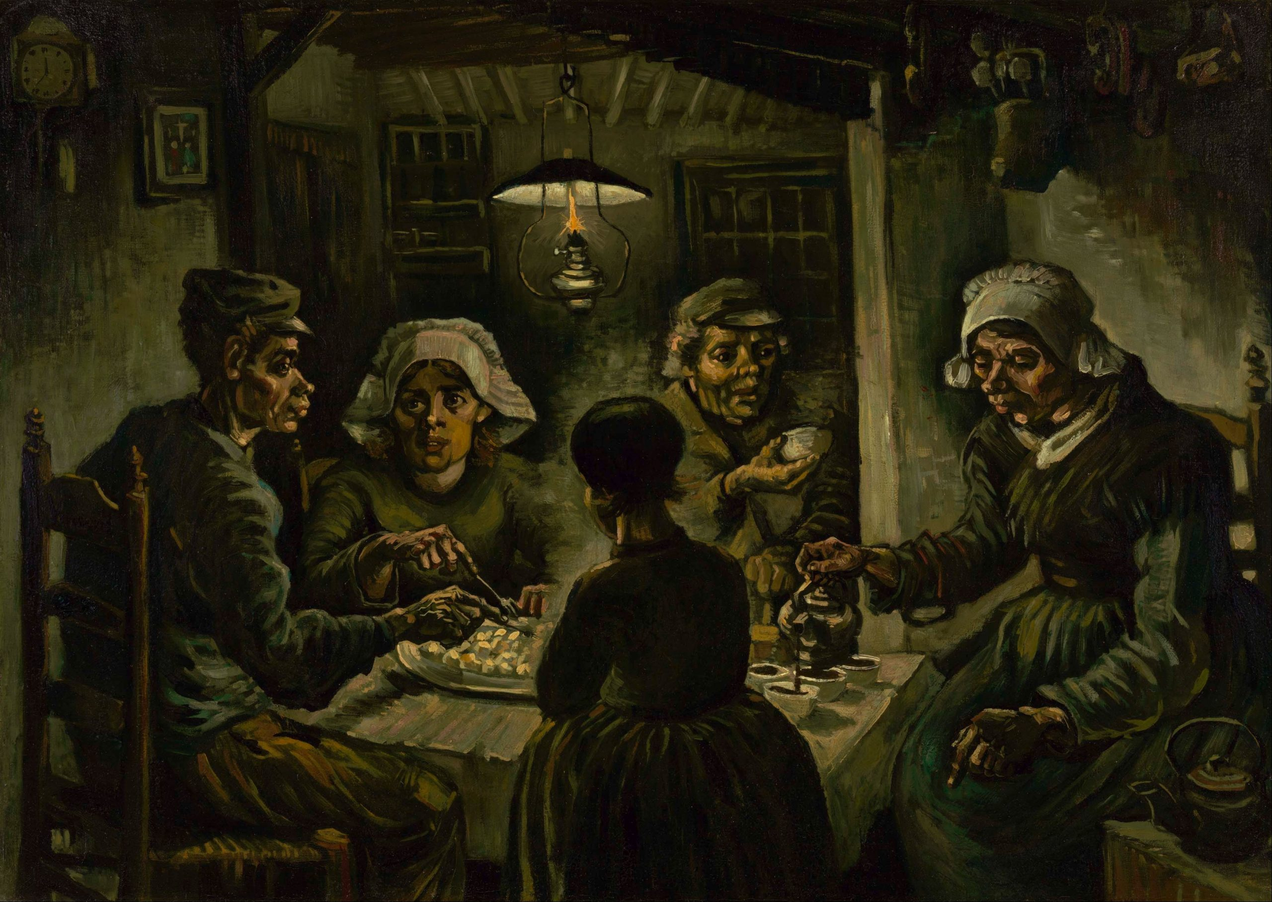 """""""The Potato Eaters""""... Controversial masterpiece in Amsterdam"""