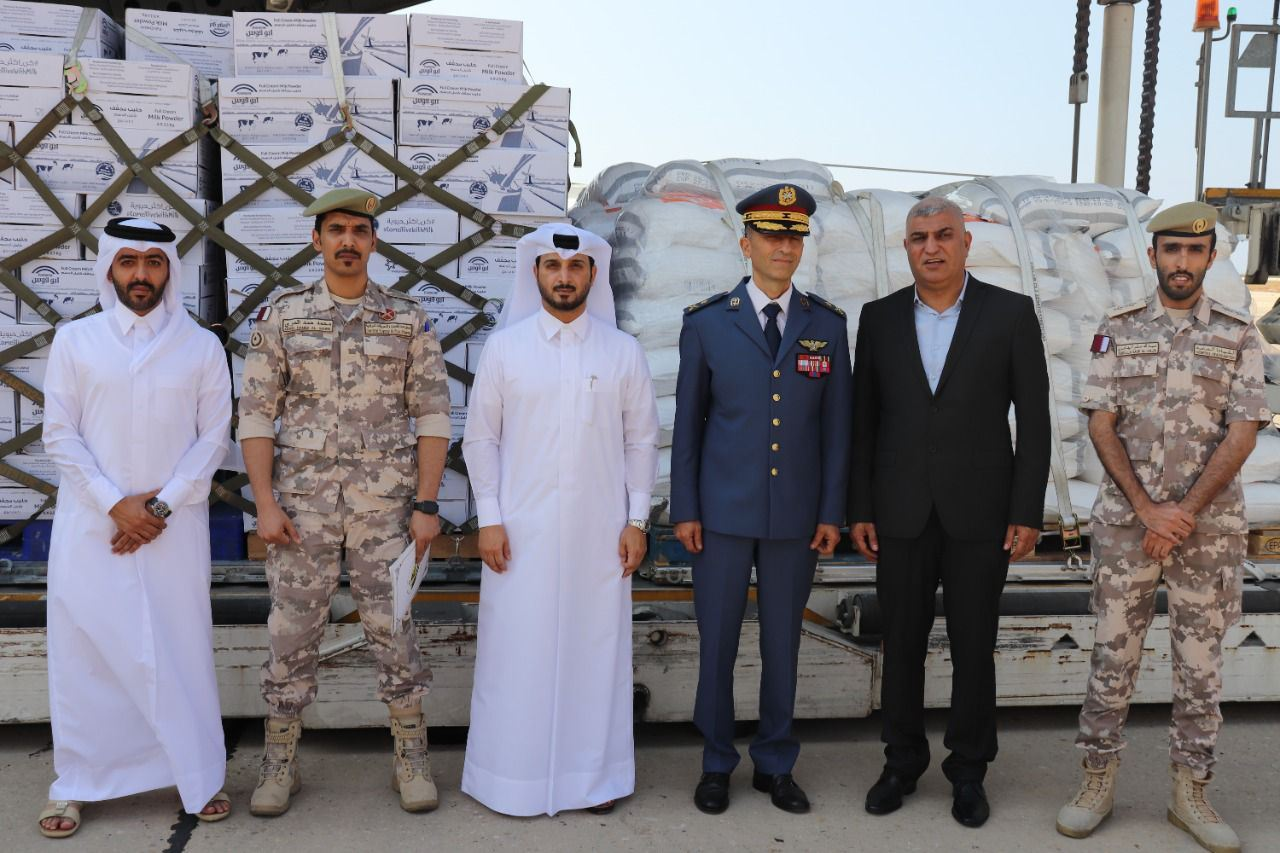 Fourth Qatari Foodstuffs Shipment Arrives in Beirut