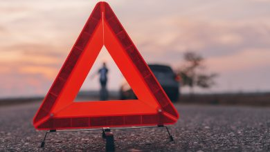 Neglecting the use of the warning triangle, a High-risk behavior